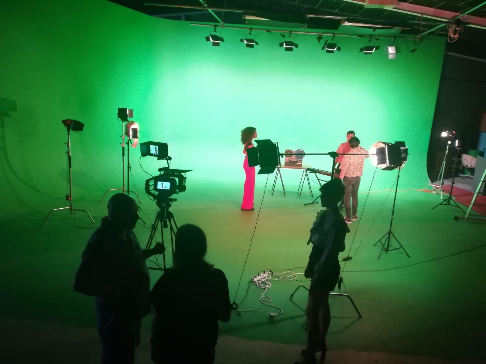 Detras de escenas rodaje videoclip Pasarela